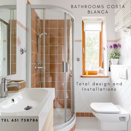 bathroom refurbishments Costa blanca