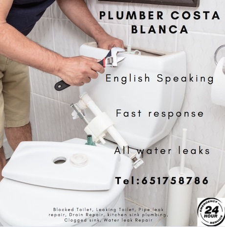 emergency plumber costa blanca