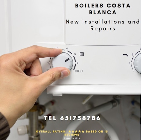 Boiler Replacement costa blanca